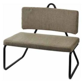 Sillón TRIBU armchair - cotton-steel. Z1757.82x 58 x79 cm. 198€
